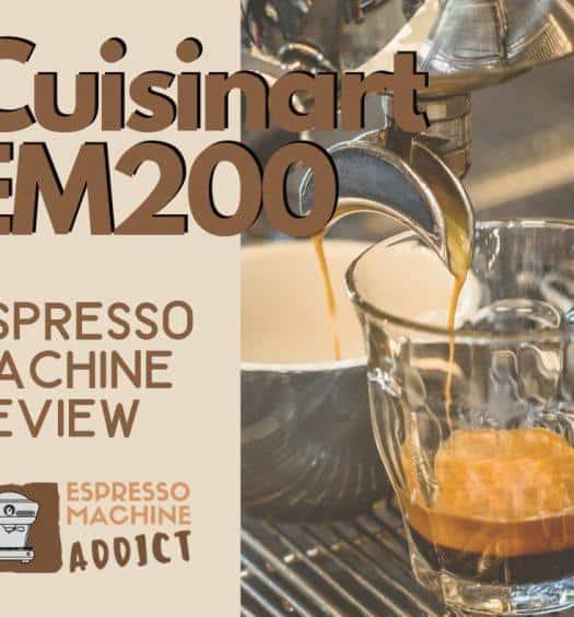 Cuisinart EM200 Espresso Machine Review