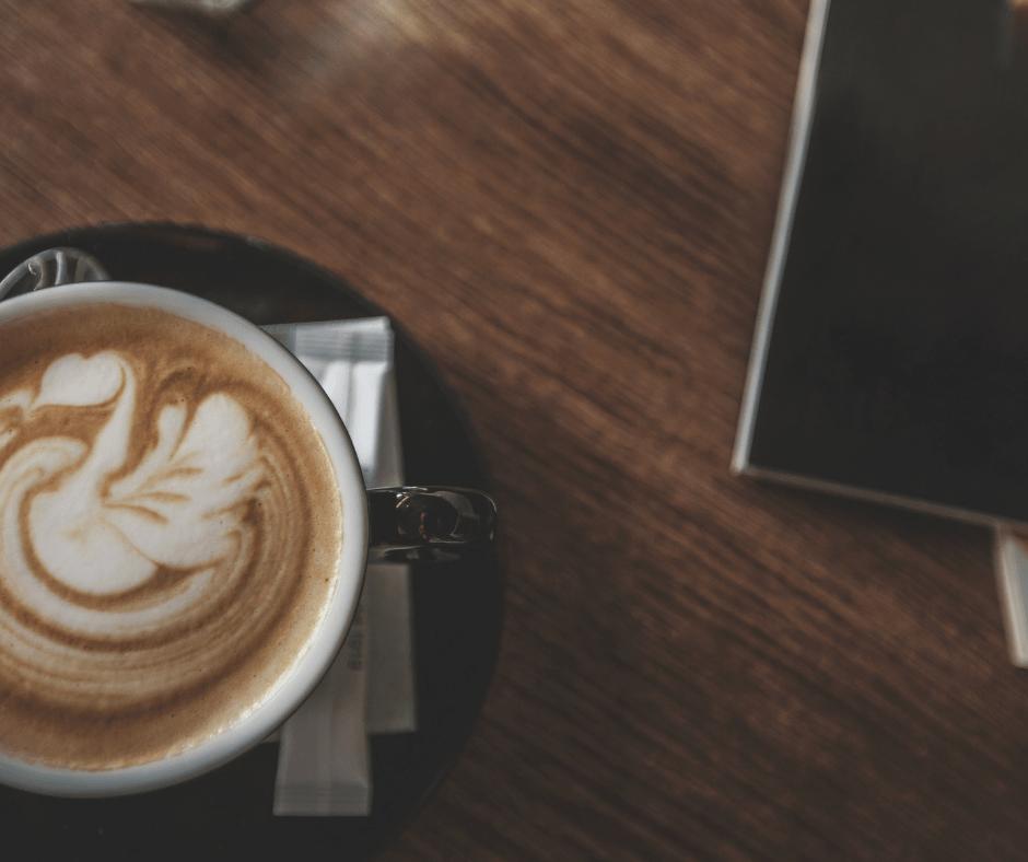 steamed milk in coffee