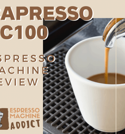 Capresso Espresso Machine EC100 Review