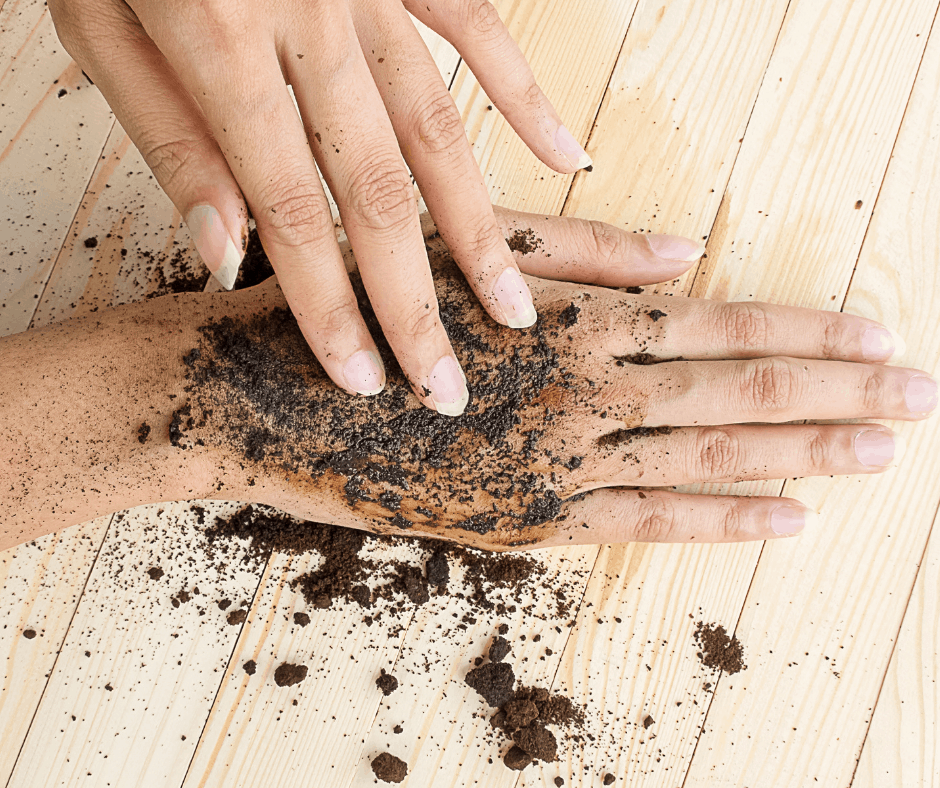 coffee scrub for hands